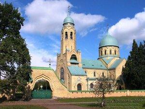 Свято-Покровская церковь в Пархомовке. Фото Сергея Клименко