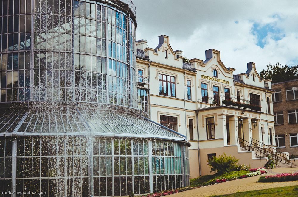 Кретинга, Литва, дворец Тышкевичей, оранжерея в Кретинге