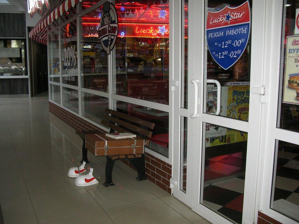 Коллекция скамеек № 28 - Променад по торговым центрам и магазинчикам мира