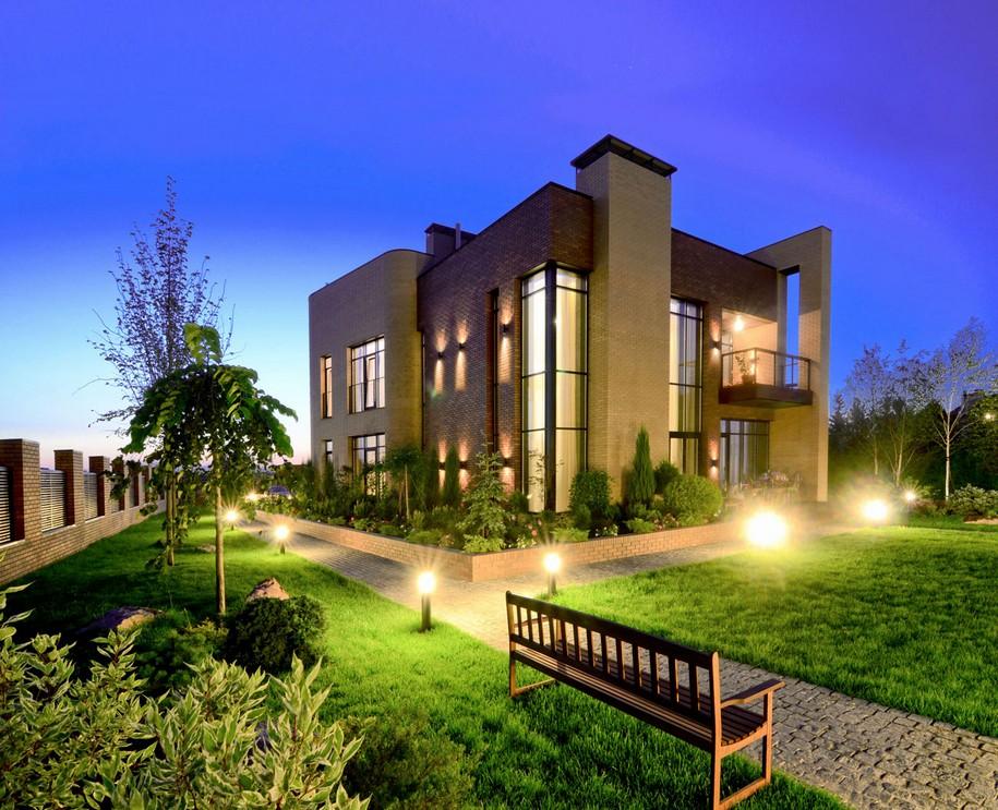 Резиденция в Киеве от Yunakov Architecture Construction