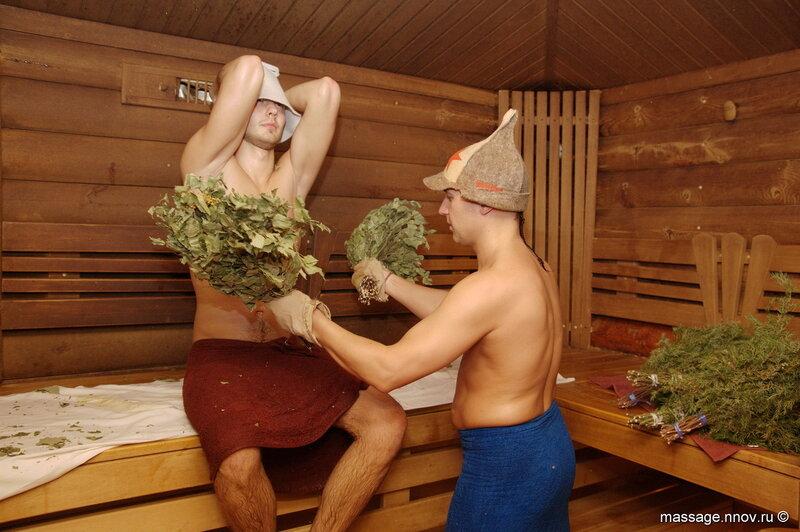 массаж фото русские