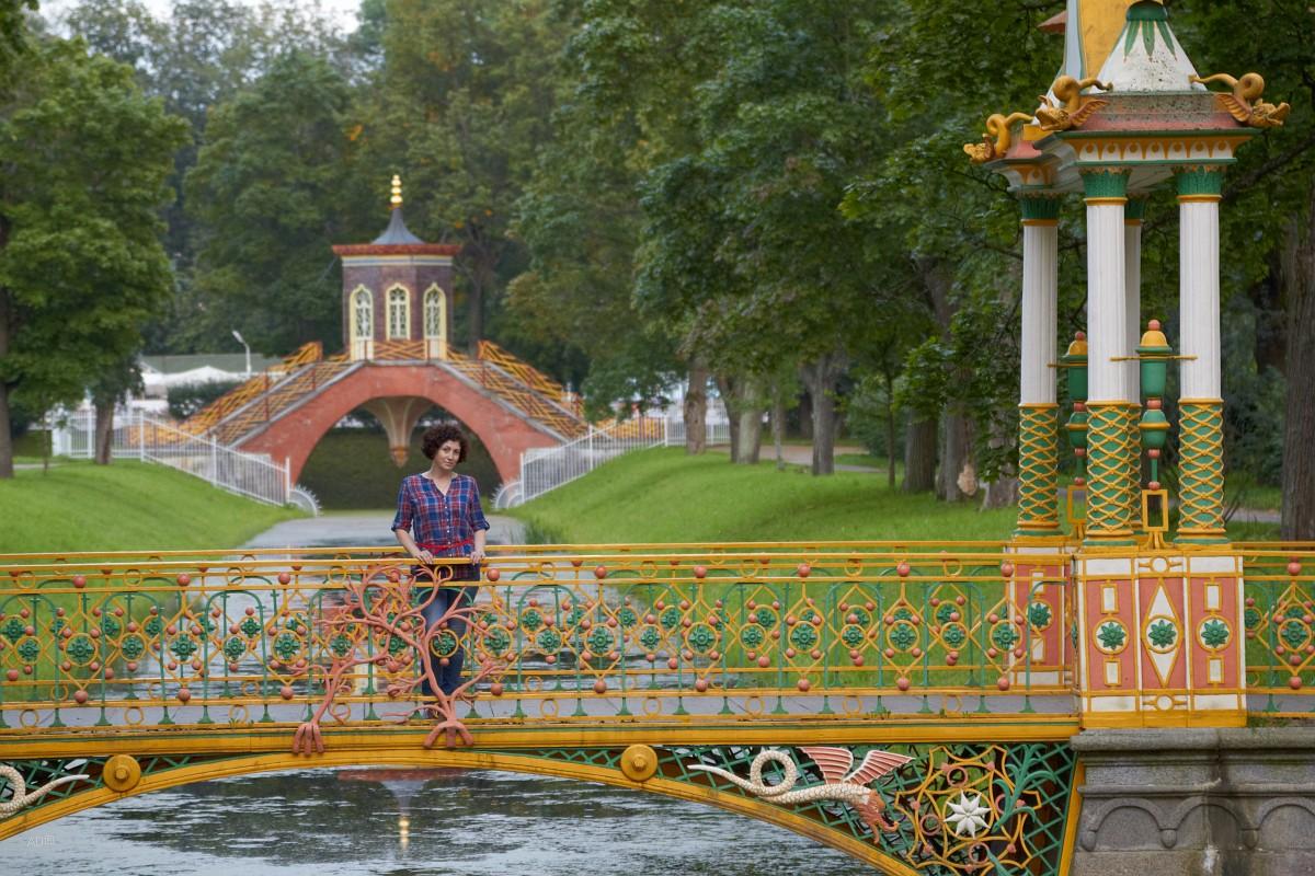 Окрестности Петербурга - Александровский сад