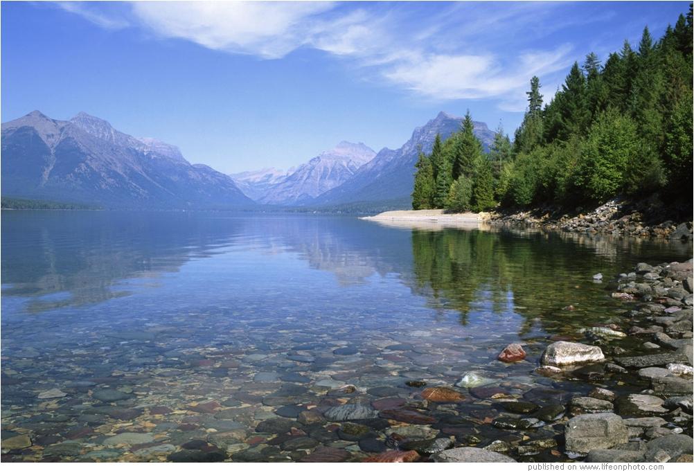 Национальный парк Глейшер (Glacier National Park)