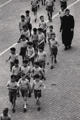 Outing/Schulausgang Rom, Italy, 1953