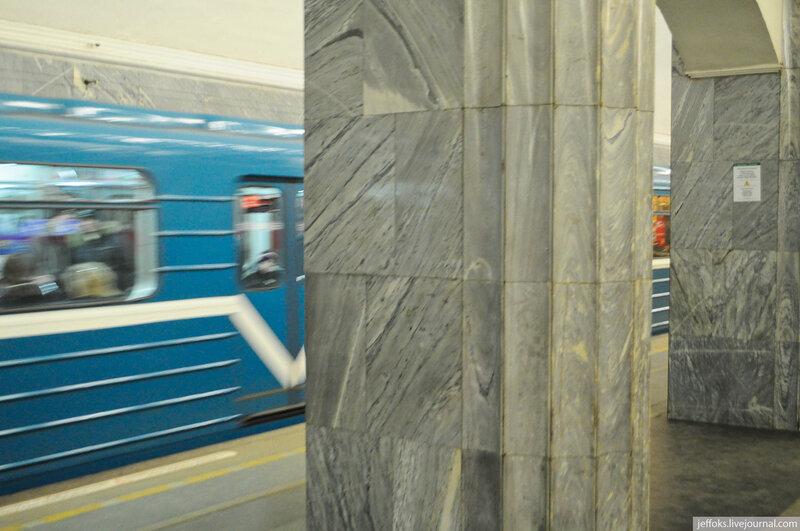 Общественный транспорт Питера.