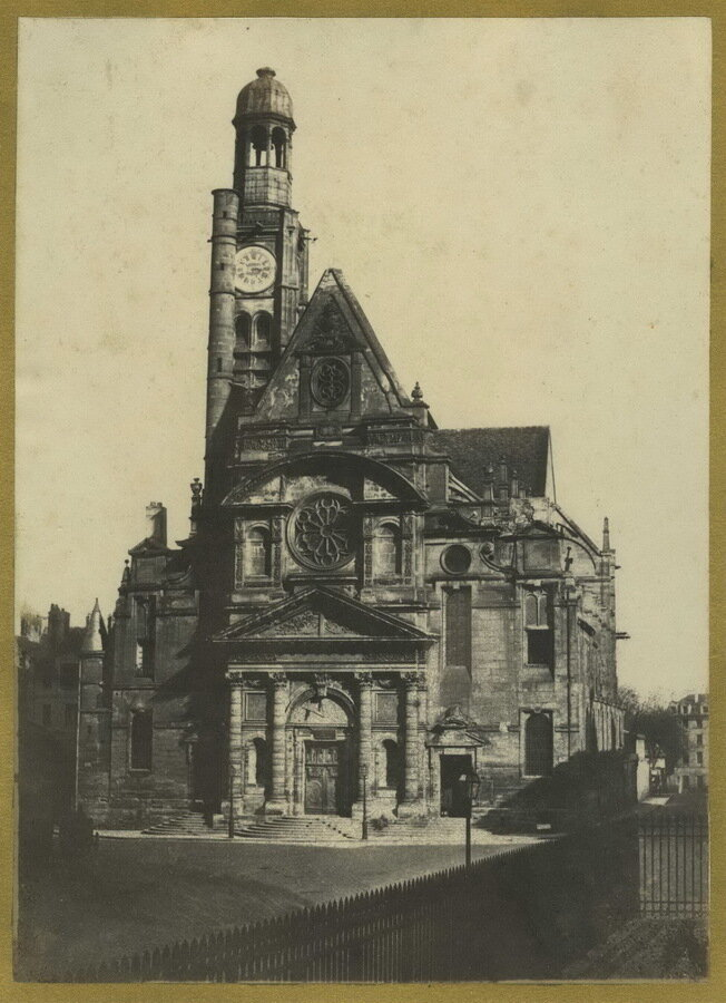 1851-1853. Церковь Сент-Этьен-дю-Мон в Париже
