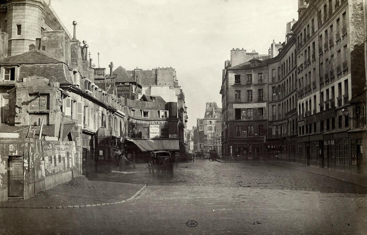 Двор Сен-Мартен. 1866