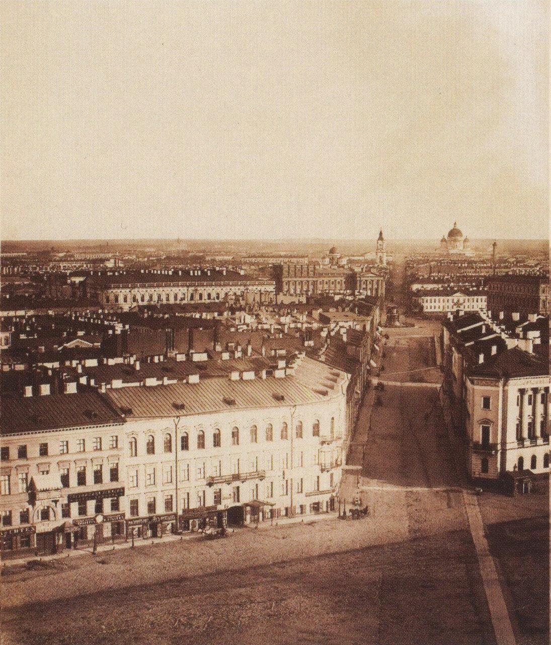 Панорама Санкт-Петербурга. 1861.11