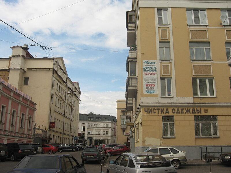 Певческий (Астаховский) переулок