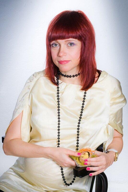 будущая мама. студийные фотографии. Фотограф Кузьмин. Москва
