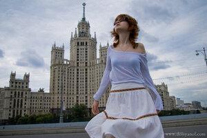 в Улёте девушка, портрет, Лена, Cat_named_cat, Москва, фотосессия