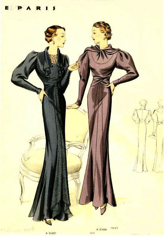 В этой игре у Вас будет возможность познакомиться с модой 30-х годов.