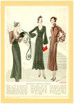 Женская мода 1934 года