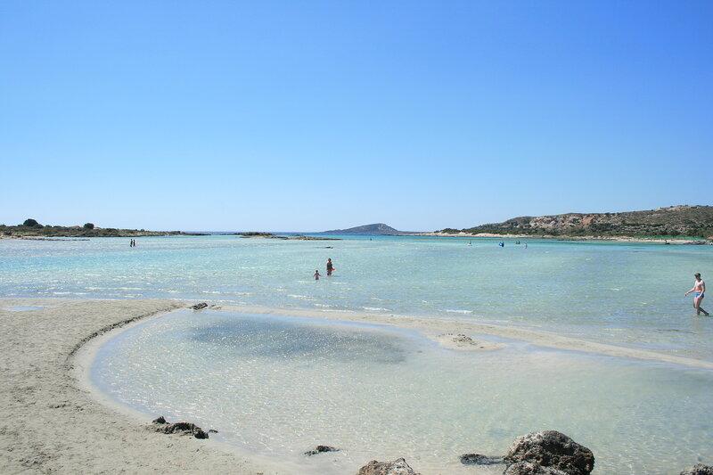 Крит, Элафонисси - розовый пляж