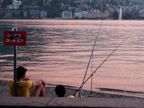 Ловить рыбу запрещено!