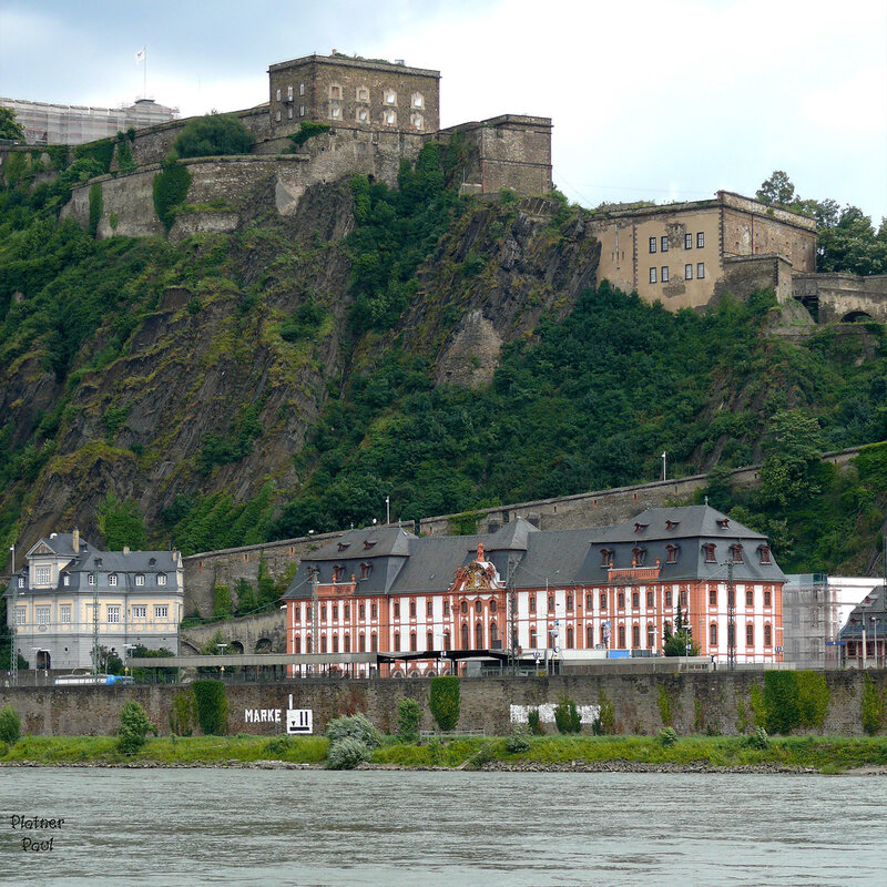 крепость Ehrenbreitstein (Эренбрайнштайн)