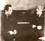 В.К.Мержанов и С.Е.Фейнберг