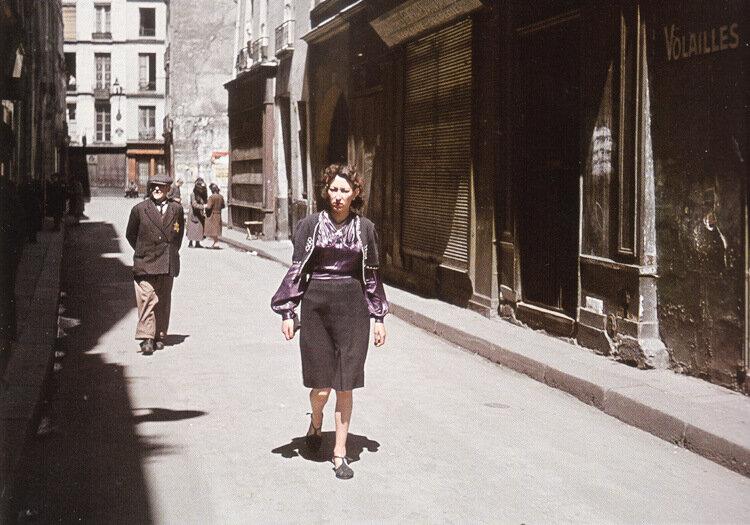 Андре Зукк, фото сделанны между 1941 и 1944 годами французским фотографом.