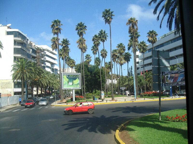 Въезжаем в Касабланку :)