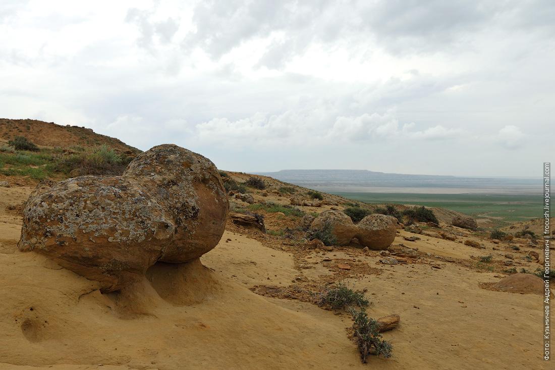 долина каменных шаров