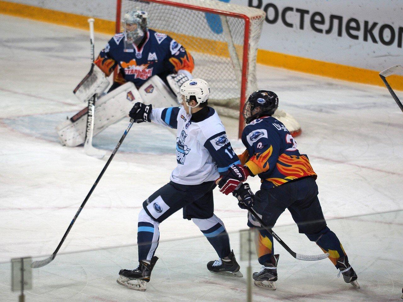 28Плей-офф МХЛ 2016 1/4 Стальные Лисы - Сибирские Снайперы 21.03.2016