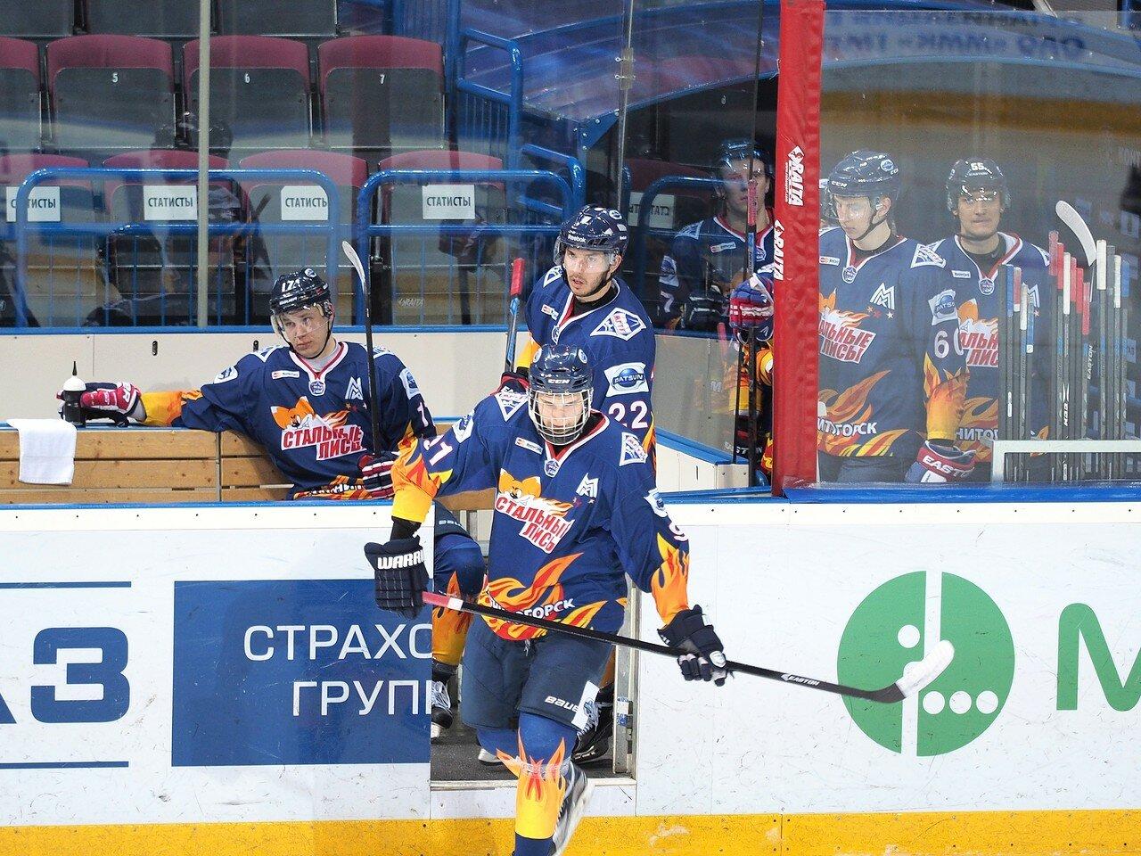 50Плей-офф МХЛ 2016 1/4 Стальные Лисы - Сибирские Снайперы 21.03.2016