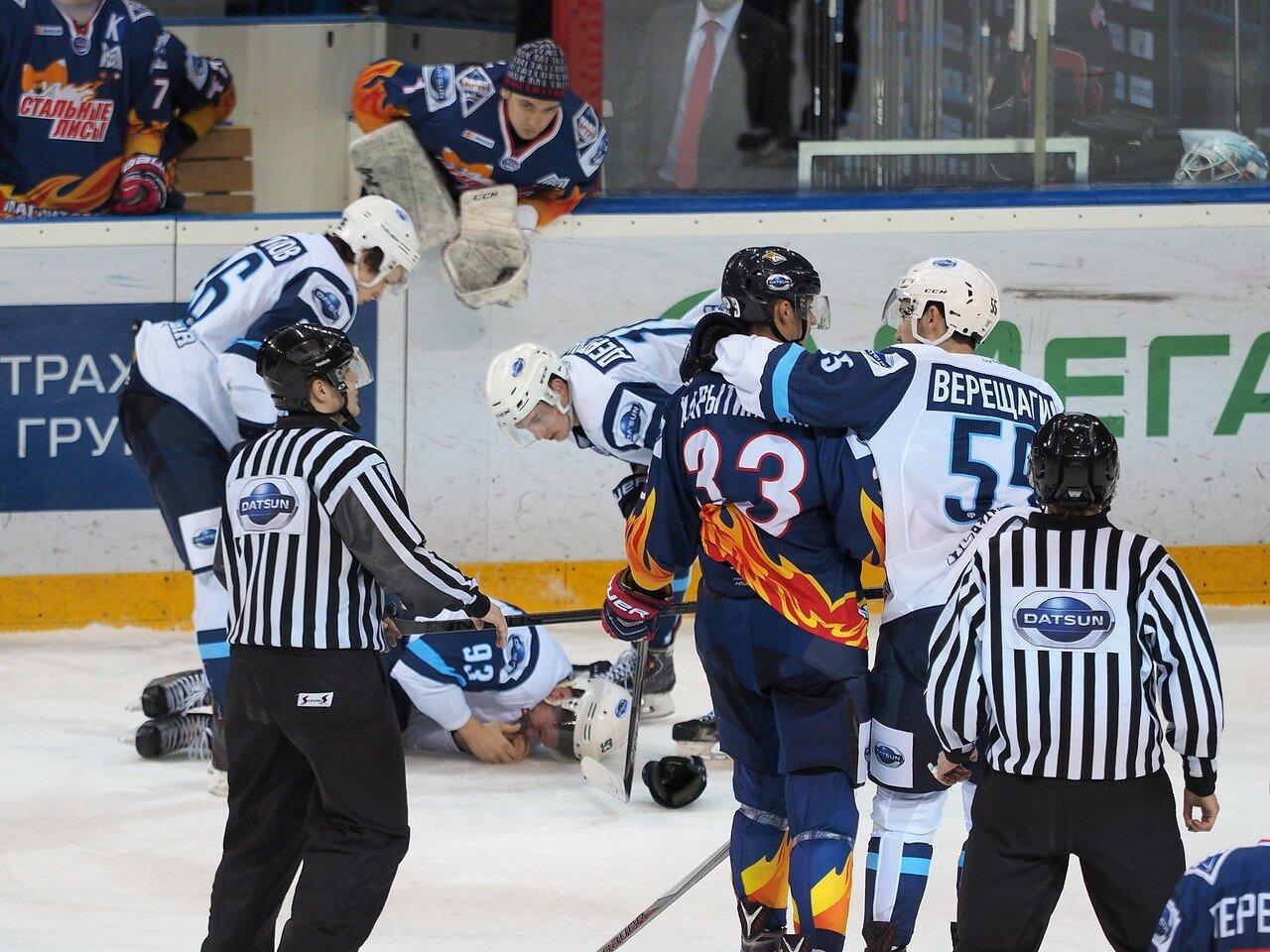 67Плей-офф МХЛ 2016 1/4 Стальные Лисы - Сибирские Снайперы 21.03.2016