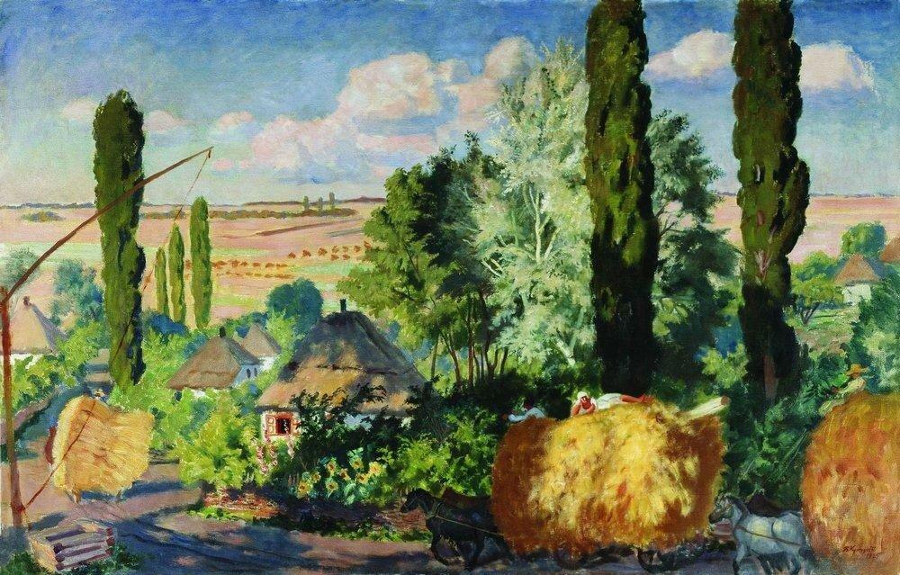 Украинский пейзаж. 1925.jpg