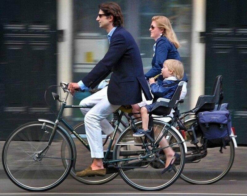 Фотографии: Амстердам   настоящая Мекка велосипедистов