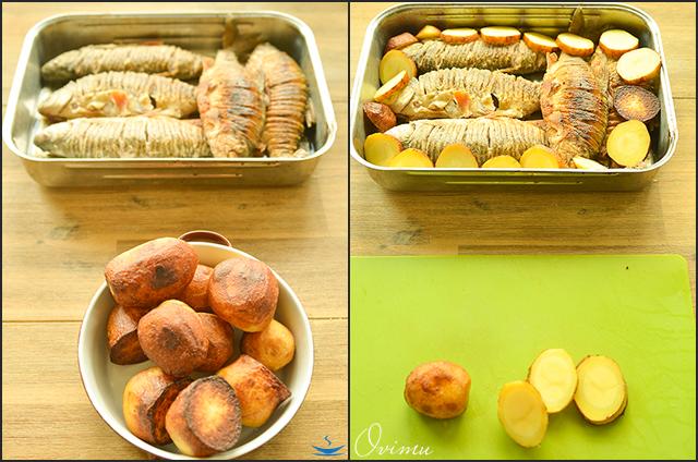 Украинская кухня. Караси в сметане