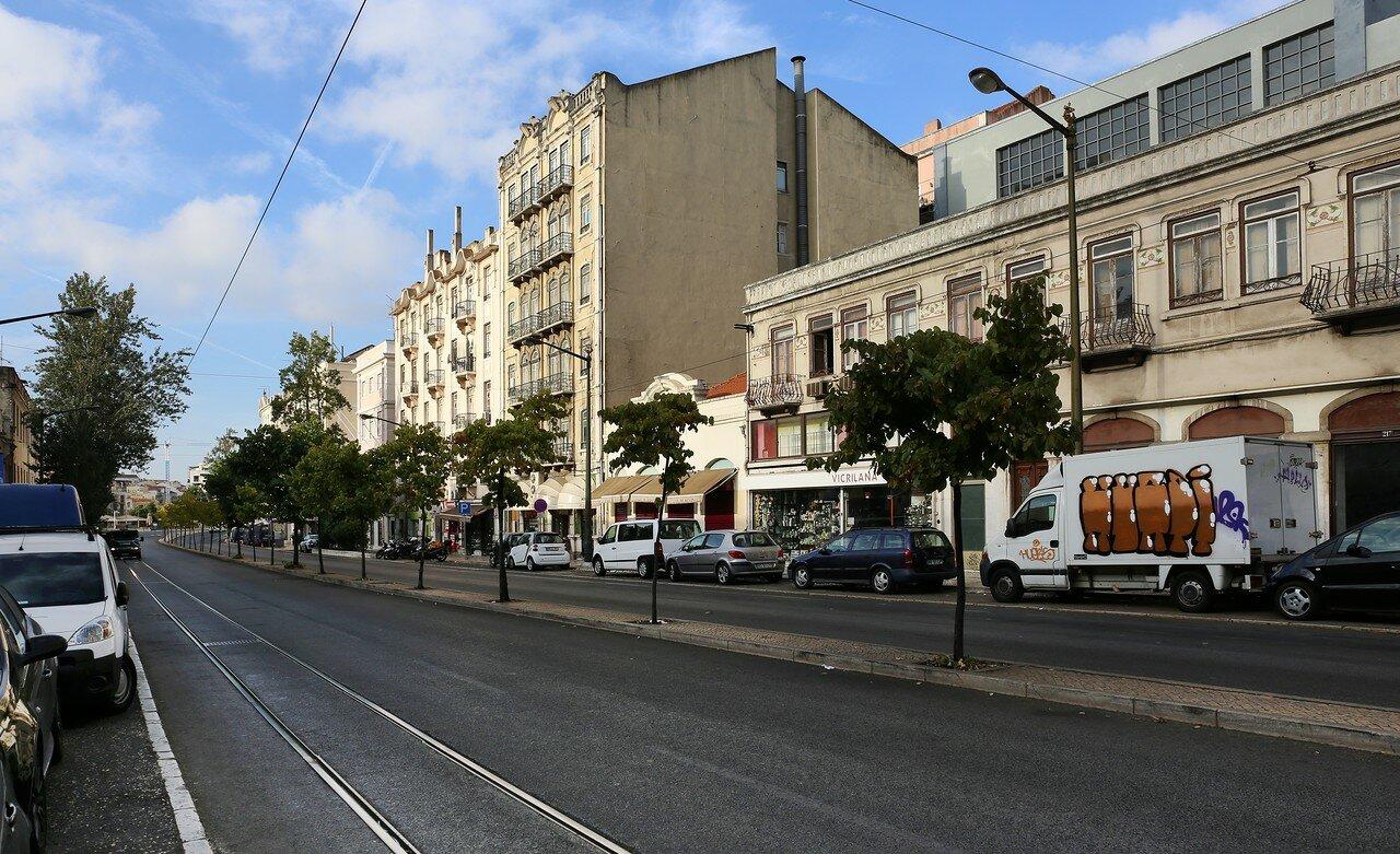 Лиссабон. Улица Руа-де-Пальма (Rua de Palma)