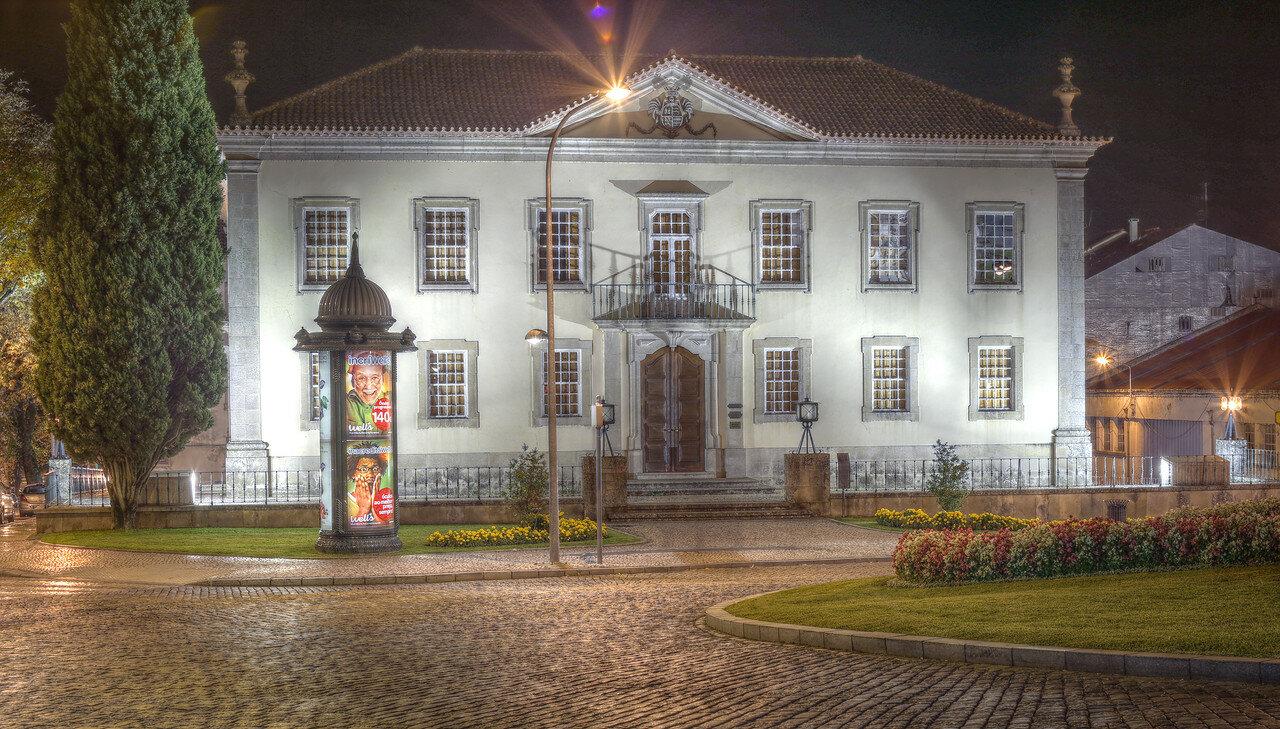 Night Viseu, Portugal. HDR photo