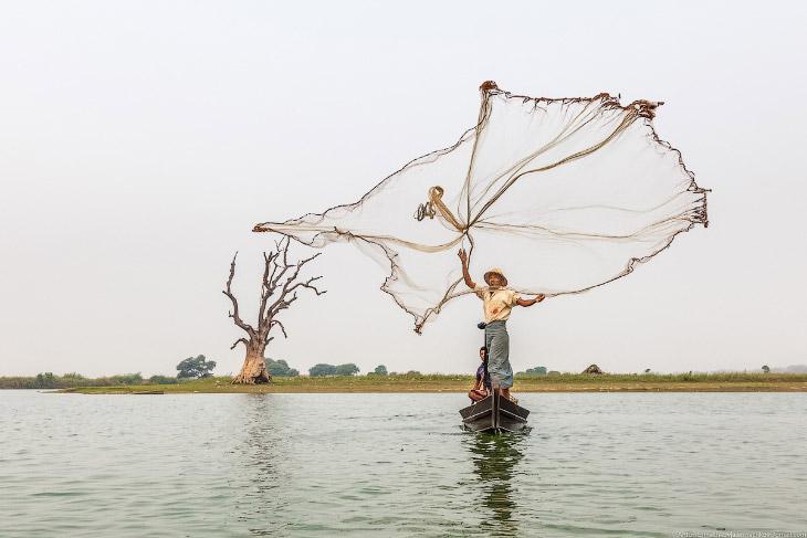 Танец с сетью (18 фото)