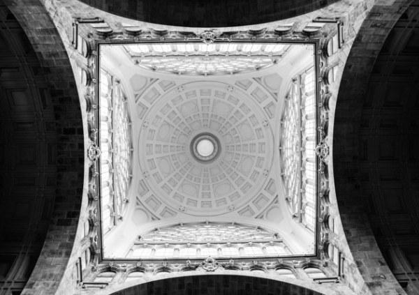 Чёрно-белая геометрия Андры Роман