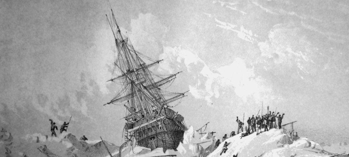 В 1845 году британский исследователь сэр Джон Франклин отправился в канадскую Арктику на поиски леге