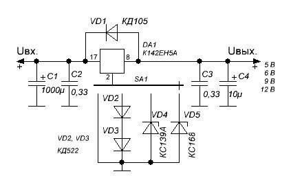 Стабилизатор с переключаемыми напряжениями 0_1389ee_f295542b_orig