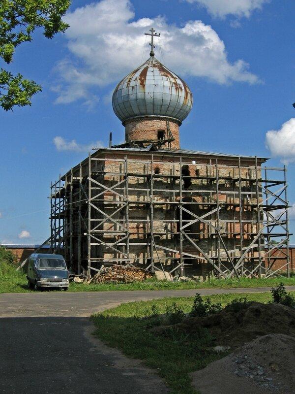 Собор Николая Чудотворца, Никольский монастырь в Старой Ладоге
