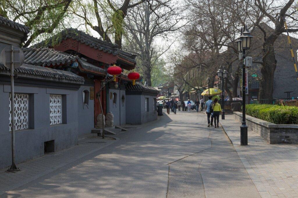 Старинная улица, Шичахай, Пекин