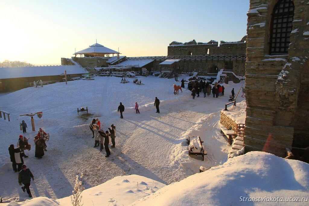Эстония, замок Раквере