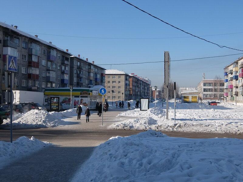 Междуреченск - Улица Пушкина