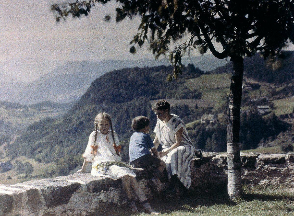 1924. Ева, Хайнц и Эльза