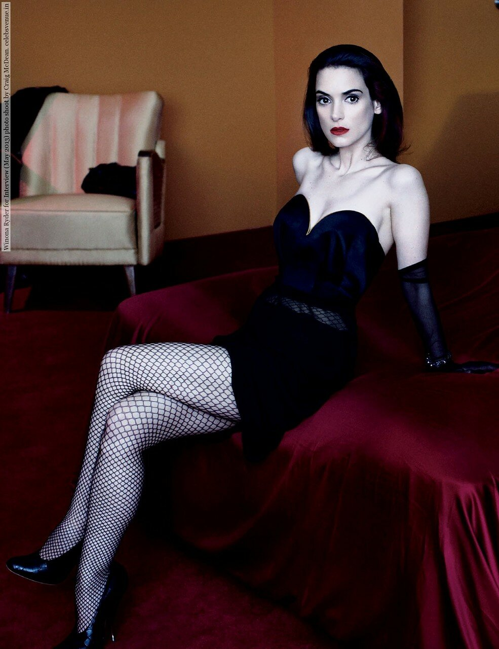 Winona Ryder for Interview (May 2013) photo shoot by Craig McDean