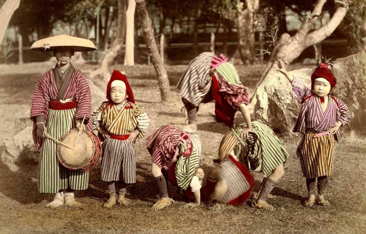 Акробаты. 1896