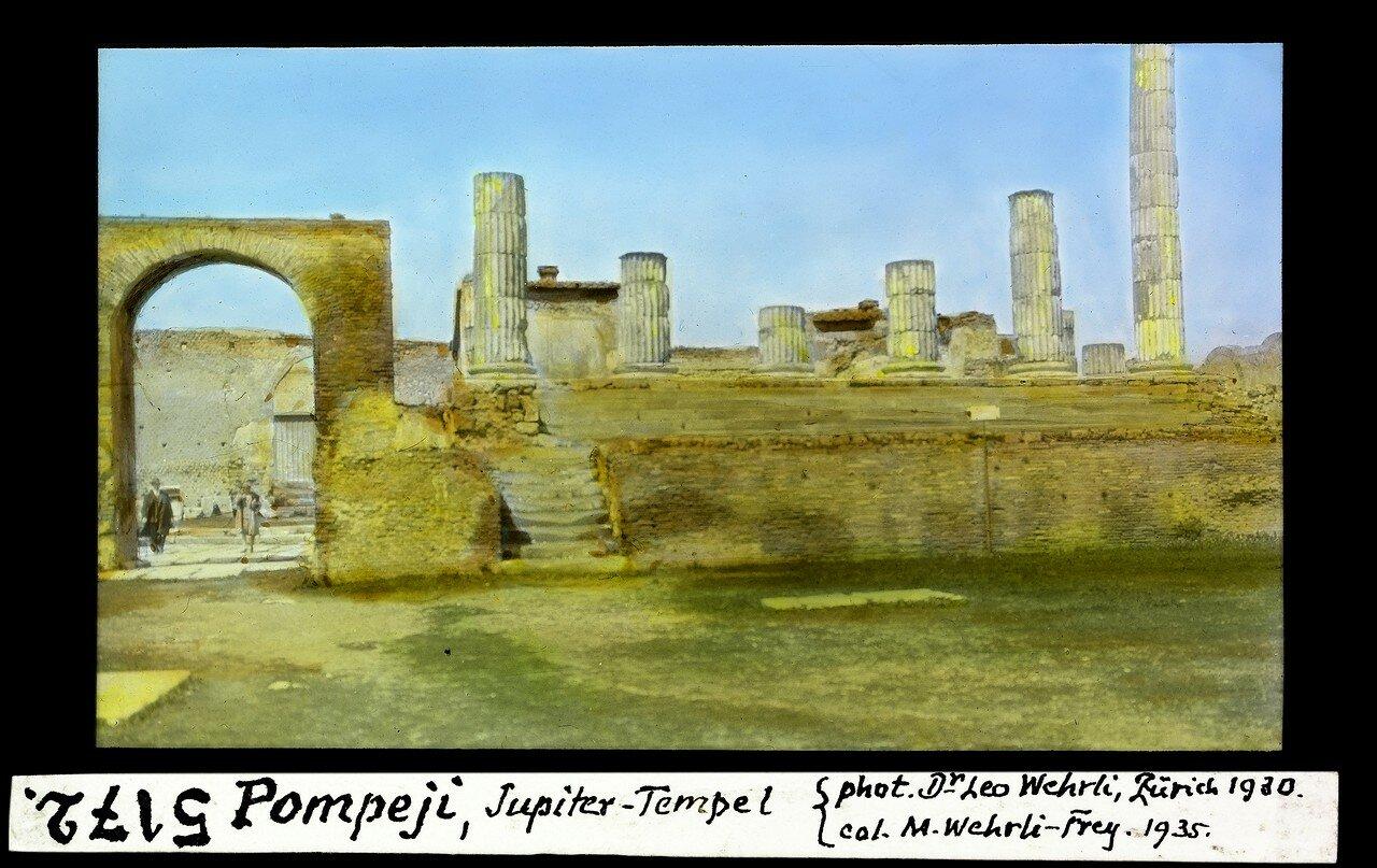 1930. Храм Юпитера