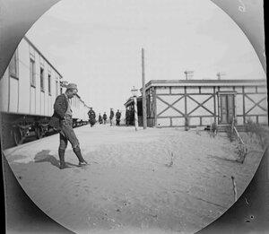 2 ноября. Железнодорожный вокзал на Закаспийской железной дороги