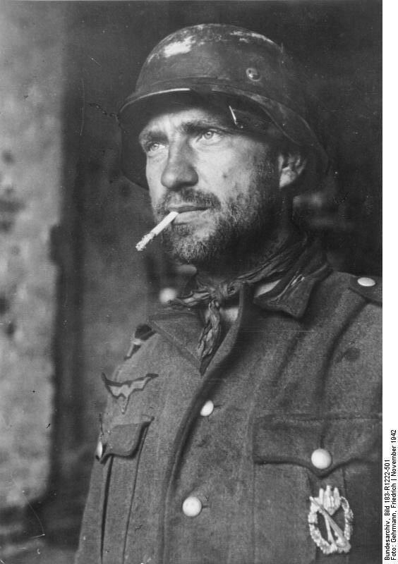 битва за Сталинград, Сталинградская битва, немецкий солдат