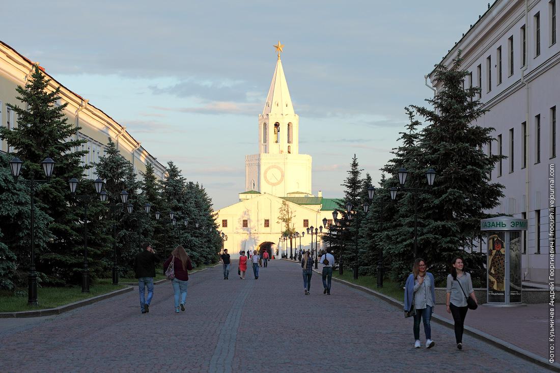 Спасская башня Казань фото
