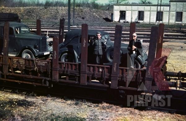 stock-photo-german-staff-car-truck-transport-train-france-1940-drinking-8710.jpg