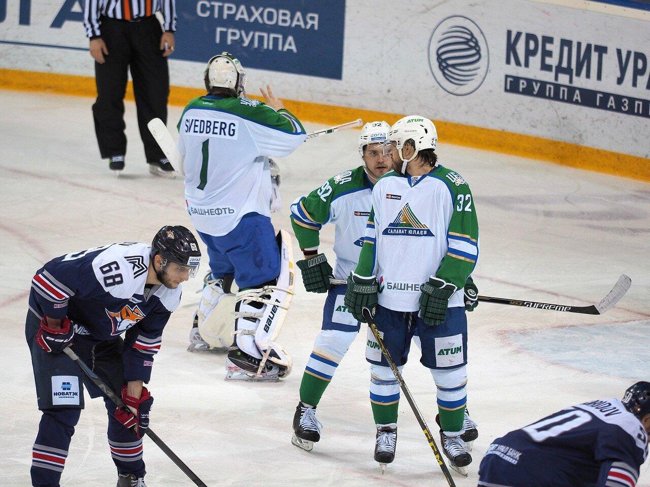 100Плей-офф 2016 Восток Финал Металлург - Салават Юлаев 23.03.2016