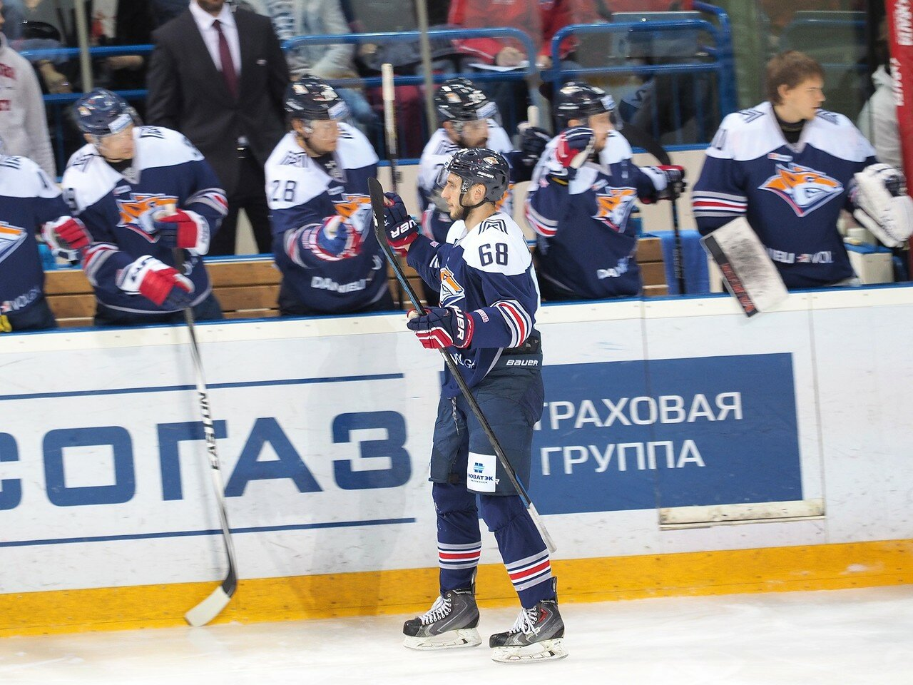 15Плей-офф 2016 Восток Финал Металлург - Салават Юлаев 25.03.2016